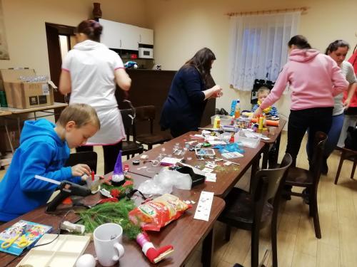 Podzimní a vánoční tvoření s dětmi 23.11.2019