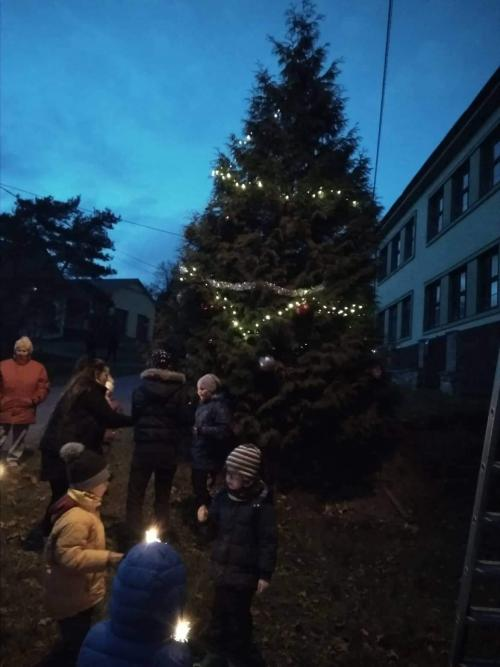 Rozsvícení vánočního stromečku 30.11.2019