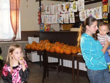 Halloweenské odpoledne 31.10.2015