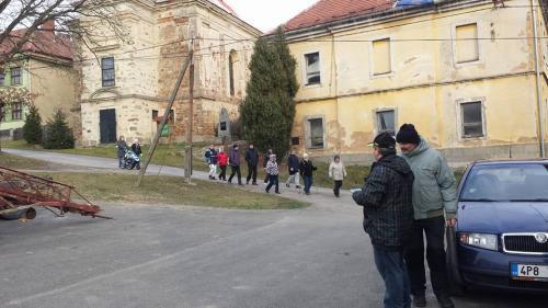 2. ročník silvestrovského pochodu Krtín 31.12.2015