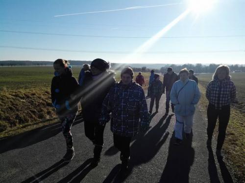 3. ročník silvestrovského pochodu Krtín 31.12.2016