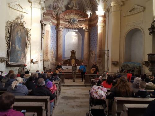 Koncert v kostele Nejsvětější Trojice 26.12.2017