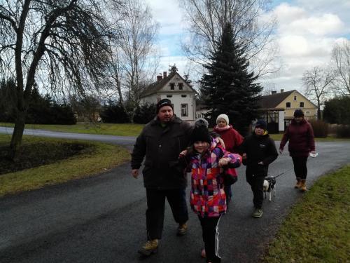 4. ročník silvestrovského pochodu Krtín 31.12.2017